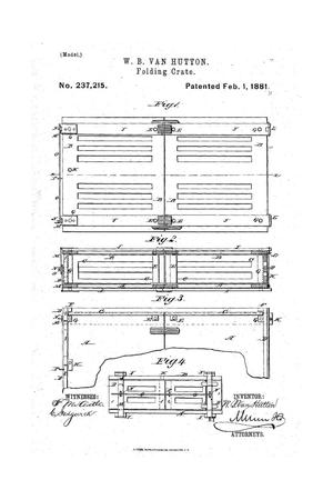 Primary view of Folding Crate.