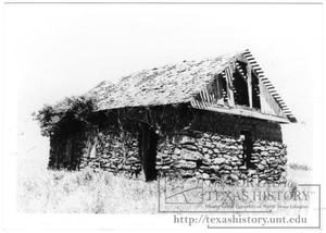 Primary view of object titled '[German Sod House]'.