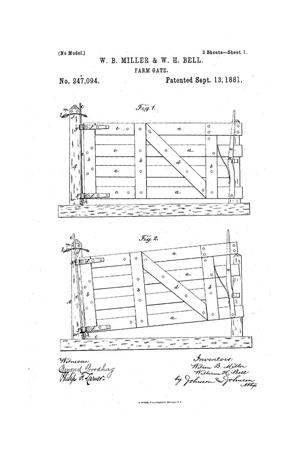 Primary view of object titled 'Farm Gate.'.