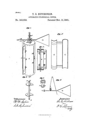 Primary view of object titled 'Automatic Cylindrical Power.'.