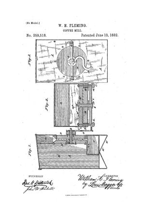 Primary view of object titled 'Coffee Mill.'.