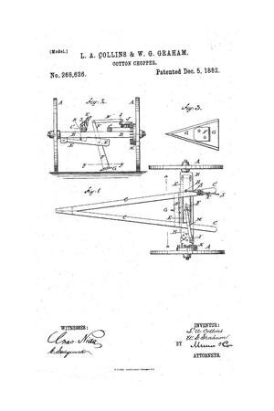 Primary view of object titled 'Cotton Chopper.'.