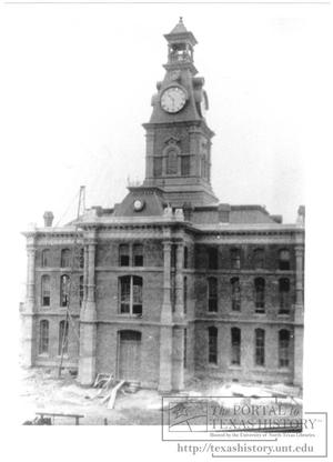 Primary view of object titled '[Clay County Court House]'.