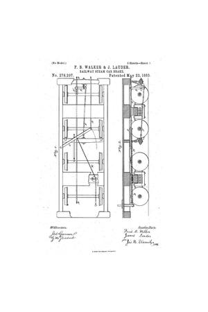 Primary view of Railway Steam Car Brake
