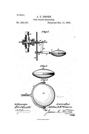 Primary view of object titled 'Feed Water Regulator.'.