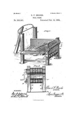 Wool-Press., Wool Press.
