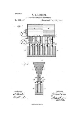 Primary view of object titled 'Cartridge Loading Apparatus.'.