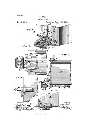 Primary view of object titled 'Car Coupling.'.