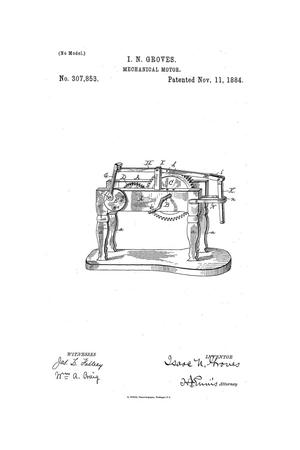 Primary view of object titled 'Mechanical Motor.'.