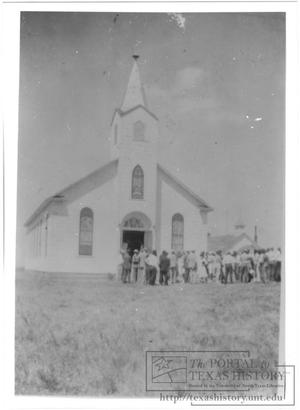 Primary view of object titled '[Hurnville Baptist]'.