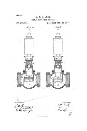 Primary view of object titled 'Signal Valve for Boilers.'.