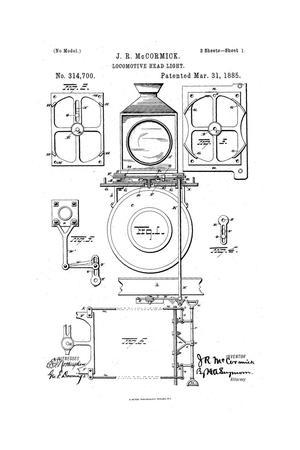 Locomotive Head-Light, Locomotive Head Light