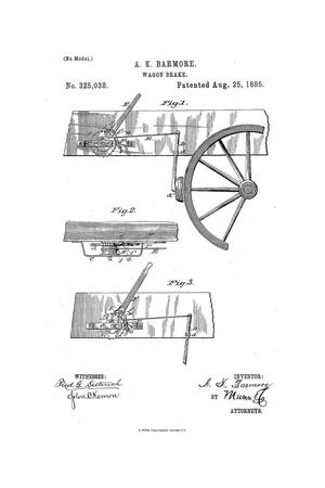 Primary view of object titled 'Wagon Brake.'.