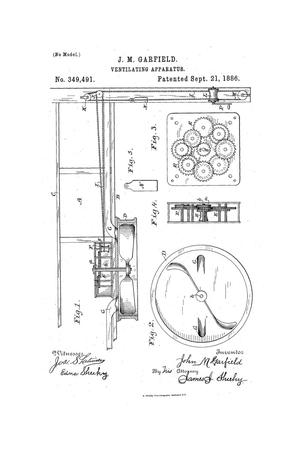Primary view of object titled 'Ventilating Apparatus.'.