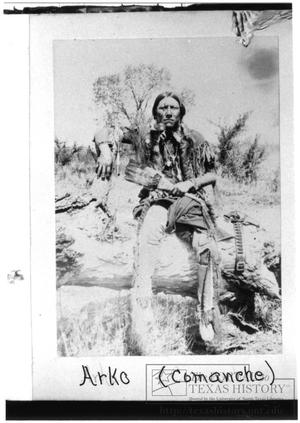Primary view of object titled '[Arko, Comanche Warrior]'.