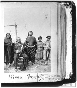 Primary view of object titled '[Portrait of a Kiowa Family]'.