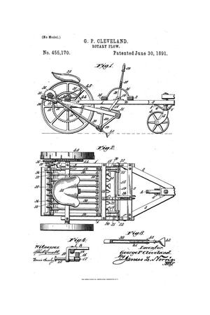 Primary view of object titled 'Rotary Plow.'.