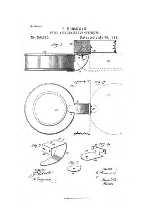 Primary view of object titled 'Swing Attachment for Cuspidors.'.