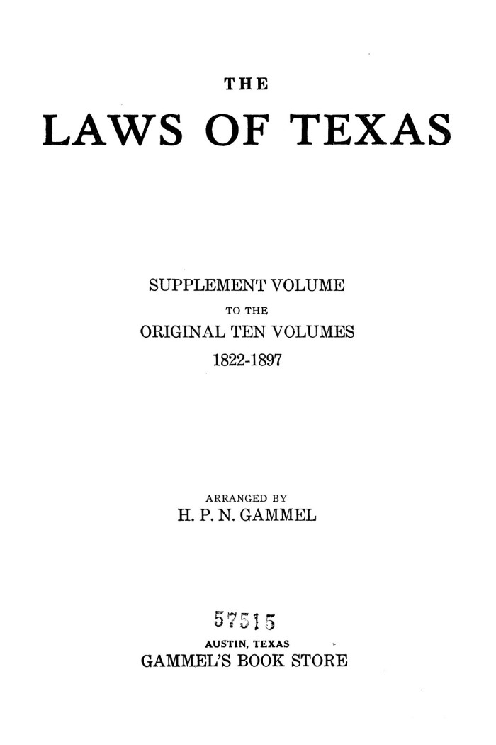 To 29 History Texas volume Texas The Of 1934-1935 Laws Portal -