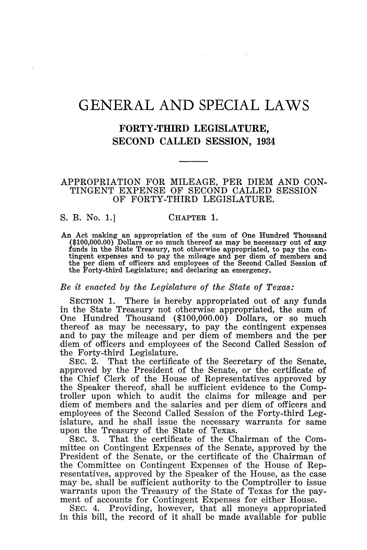 The Laws of Texas, 1934-1935 [Volume 29]                                                                                                      [Sequence #]: 11 of 2086