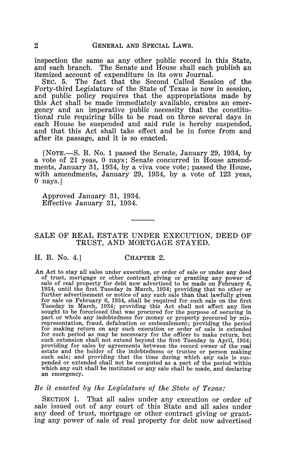 The Laws of Texas, 1934-1935 [Volume 29]                                                                                                      [Sequence #]: 12 of 2086