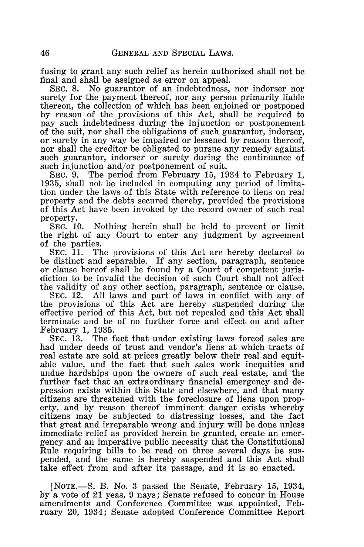 The Laws of Texas, 1934-1935 [Volume 29]                                                                                                      [Sequence #]: 56 of 2086