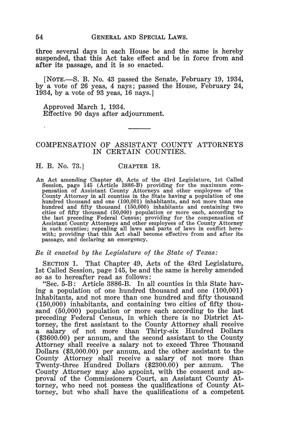 The Laws of Texas, 1934-1935 [Volume 29]                                                                                                      [Sequence #]: 64 of 2086