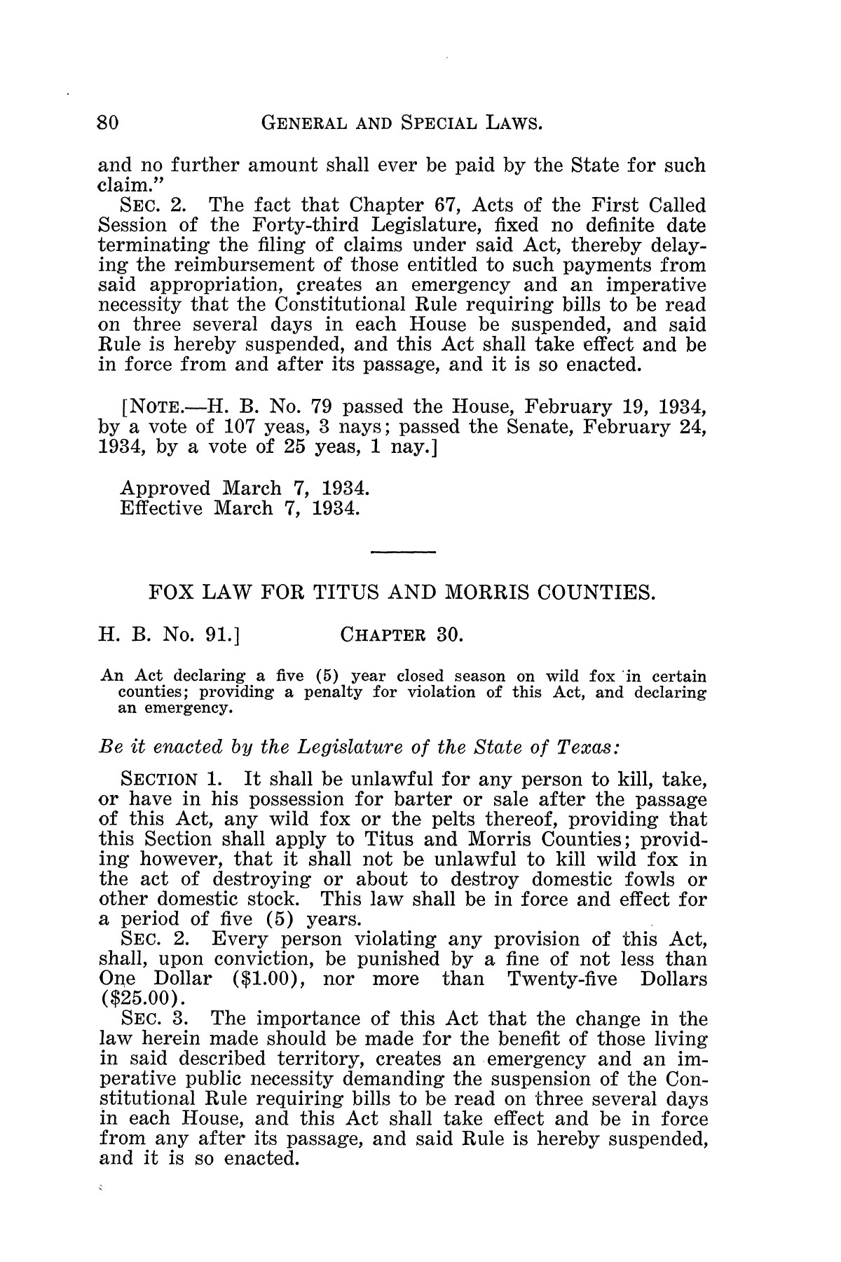 The Laws of Texas, 1934-1935 [Volume 29]                                                                                                      [Sequence #]: 90 of 2086