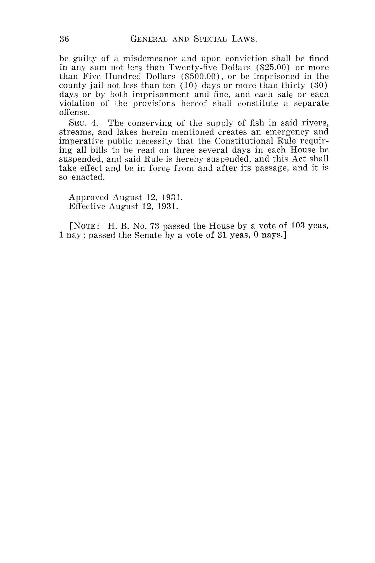 The Laws of Texas, 1931-1933 [Volume 28]                                                                                                      [Sequence #]: 44 of 2111