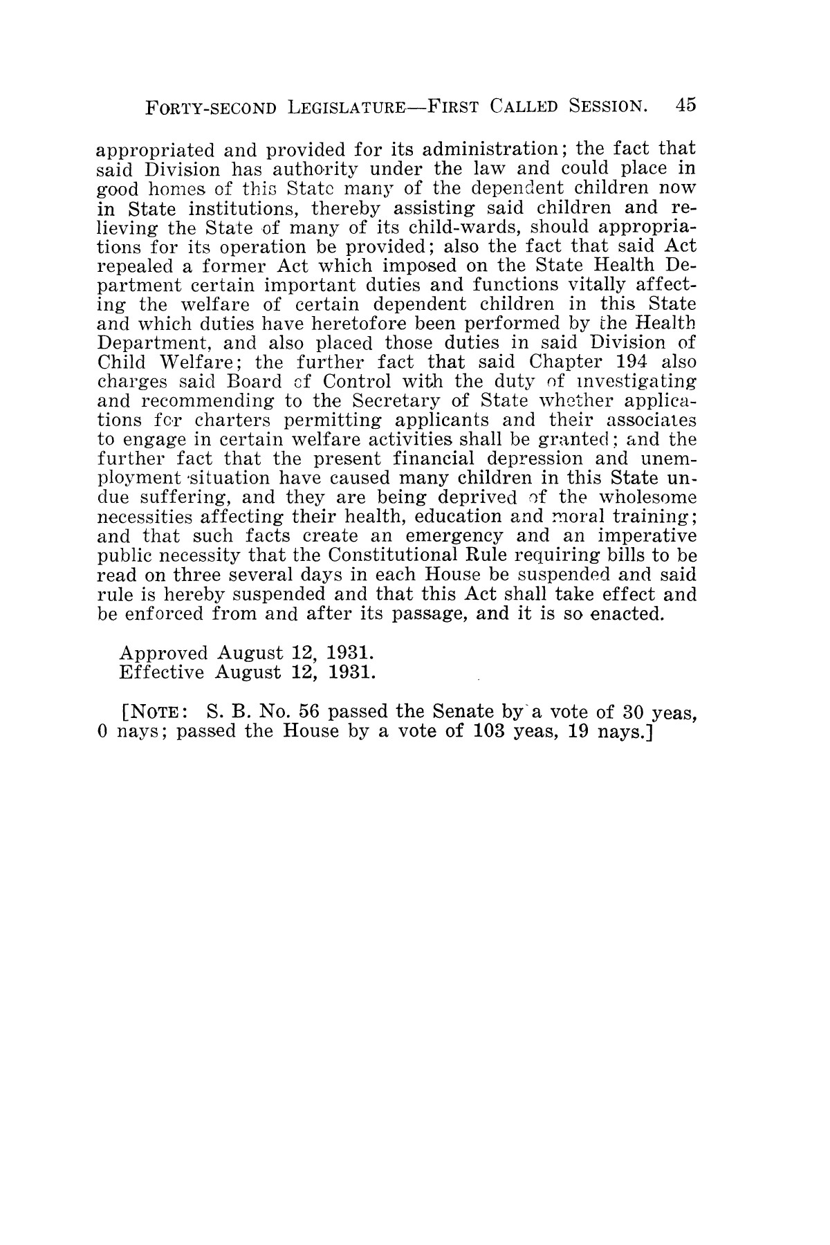The Laws of Texas, 1931-1933 [Volume 28]                                                                                                      [Sequence #]: 53 of 2111
