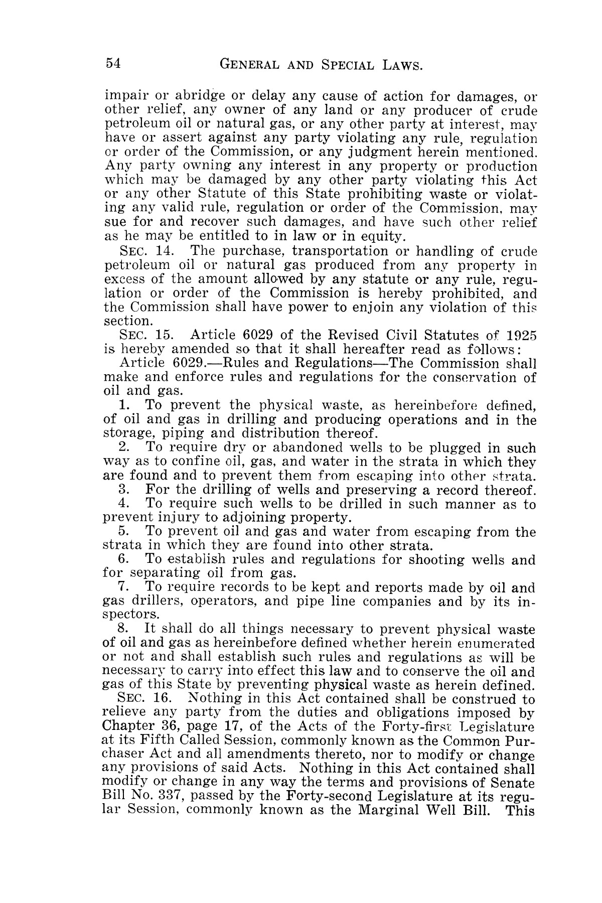 The Laws of Texas, 1931-1933 [Volume 28]                                                                                                      [Sequence #]: 62 of 2111