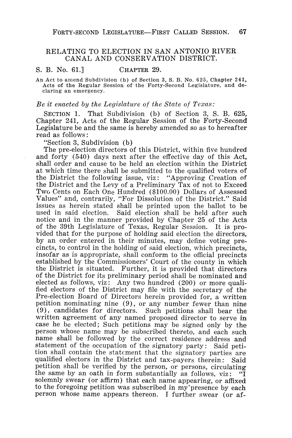 The Laws of Texas, 1931-1933 [Volume 28]                                                                                                      [Sequence #]: 75 of 2111