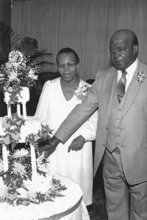 Mr. and Mrs. James Edward Hill - Golden Wedding Anniversary