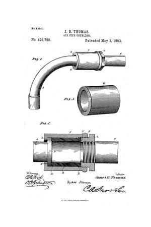 Primary view of object titled 'Air-Pipe Coupling.'.