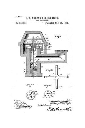 Primary view of object titled 'Gas-Governor.'.