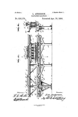 Primary view of object titled 'Elevated Railway.'.