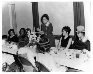 Primary view of object titled 'Ebenezer Baptist Church - Women's Luncheon'.