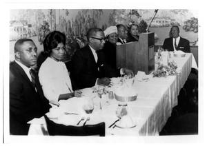 Primary view of object titled 'Ebenezer Baptist Church Banquet'.