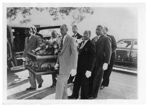 Primary view of object titled 'Ebenezer Baptist Church - Funeral of Rev. Jerome Christopher Lott'.