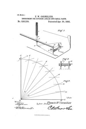 Primary view of object titled 'Instrument for Dividing Angles into Equal Parts.'.