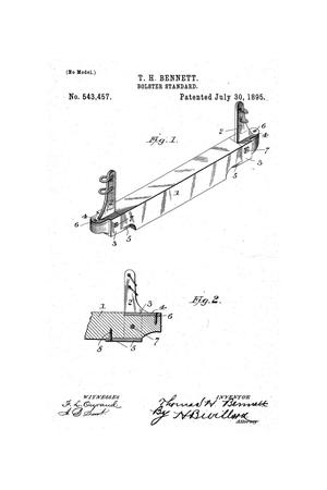 Primary view of object titled 'Bolster-Standard.'.