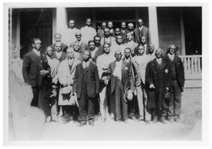 Primary view of object titled 'First Baptist Sunday School Cadets - 1922'.