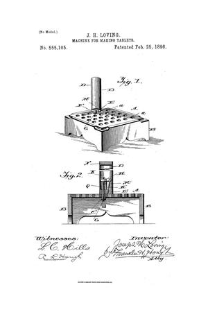 Primary view of object titled 'Machine for Making Tablets'.