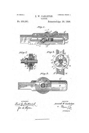 Primary view of object titled 'Clutch.'.