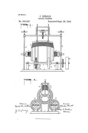 Primary view of object titled 'Barrel-Washer.'.
