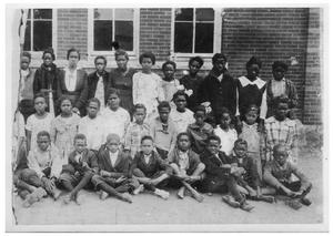 Primary view of object titled 'Blackshear School Students'.