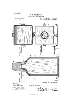 Primary view of object titled 'Non-Refillable Bottle.'.
