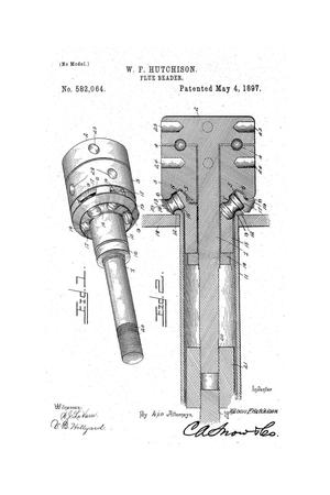Primary view of object titled 'Flue-Beader.'.