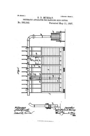 Primary view of object titled 'Pneumatic Apparatus for Handling Seed-Cotton.'.
