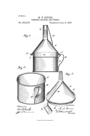 Primary view of object titled 'Combined Measure and Funnel.'.